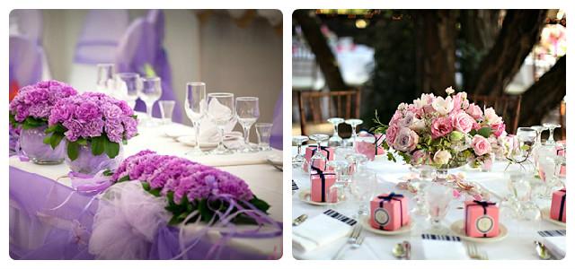 Букеты для украшения стола на юбилей, букет на стол из орхидей фото